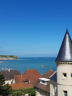While I was Wandering: Arromanches
