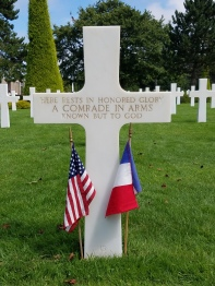 While I was Wandering: Normandy American Cemetery