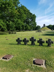 While I was Wandering: German Cemetery
