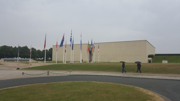 While I was Wandering: Caen Mémorial Cité de L'Histoire Pour La Paix