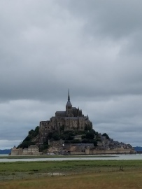 While I was Wandering: Mont Saint-Michel