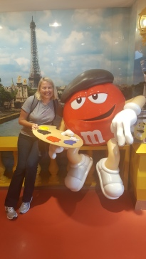 While I was Wandering: Monsieur Rouge M&M
