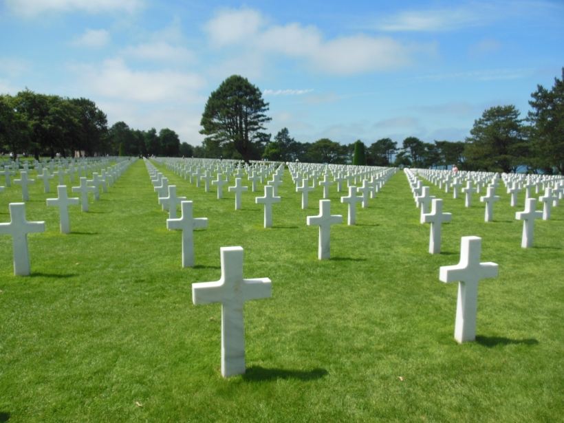 While I was Wandering: Touring Normandy's D-Day Sites