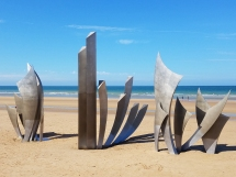 While I was Wandering: Omaha Beach