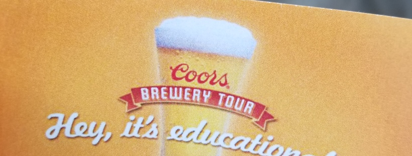 While I was Wandering: The Coors Brewery