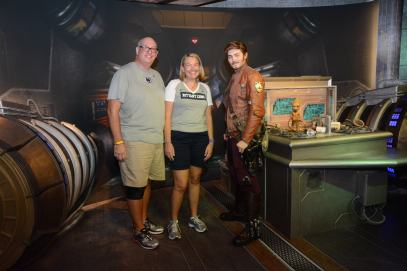 Star-Lord and Baby Groot at Disney's Hollywood Studios