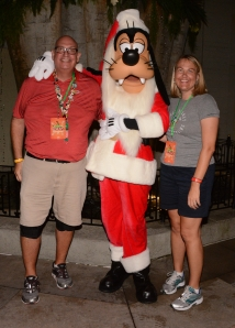 While I was Wandering: A Very Merry Christmas in Disney World (Goofy is the tallest one in the middle!)