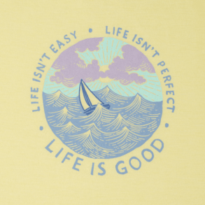 Life isn't Easy, Life isn't Perfect: Life is Good Photo from: https://www.lifeisgood.com/life-is-not-easy.-life-is-not-perfect.-life-is-good./