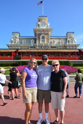 While I was Wandering: Enjoying the Magic Kingdom