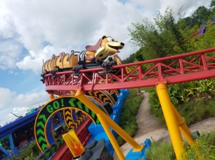 While I was Wandering: Slinky Dog Dash in Toy Story Land