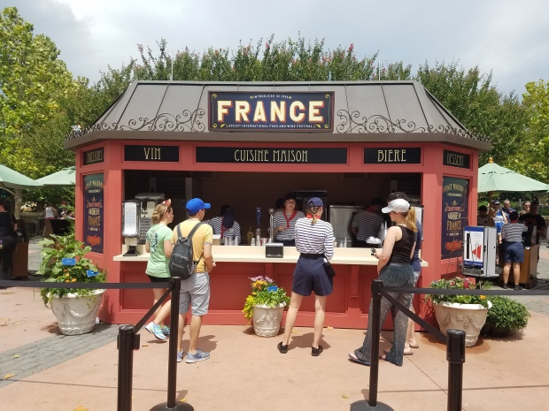 While I was Wandering: France's Global Marketplace at the Epcot International Food and Wine Festival