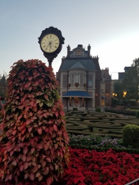 Merry Christmas from Epcot's France Pavilion