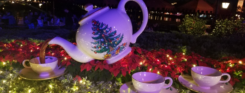 Happy Holidays from Epcot's UK Pavilion