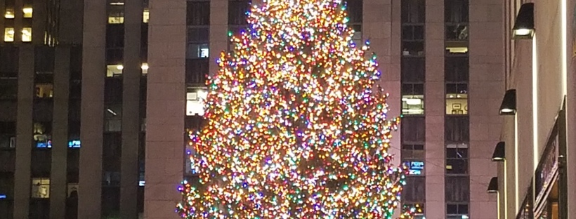 While I was Wandering: Rockefeller Center Tree