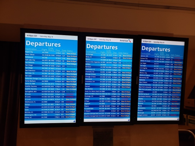 While I was Wandering: So Many Delays and Cancellations!