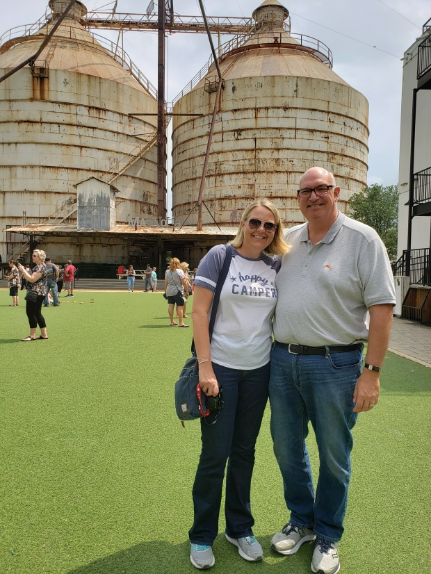 While I as Wandering: Magnolia Silos in Waco, TX