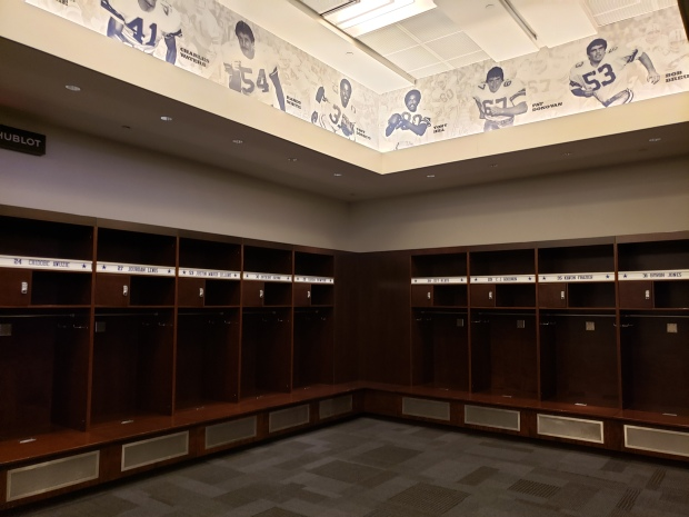 Cowboys Locker Room