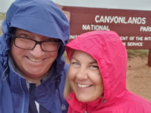A Rainy Day in Canyonlands National Park