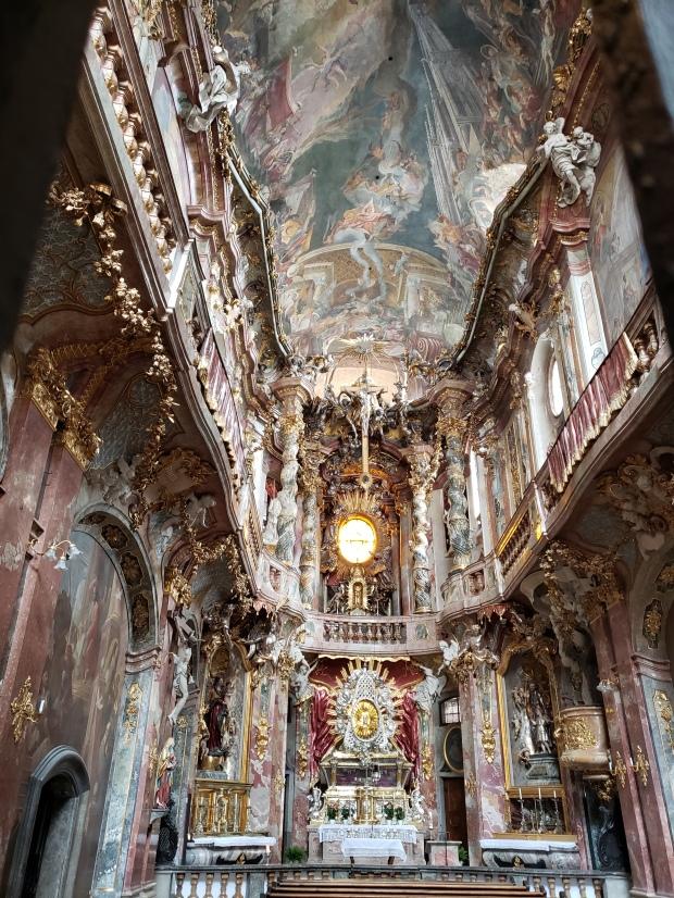 While I was Wandering Munich's Asam Church