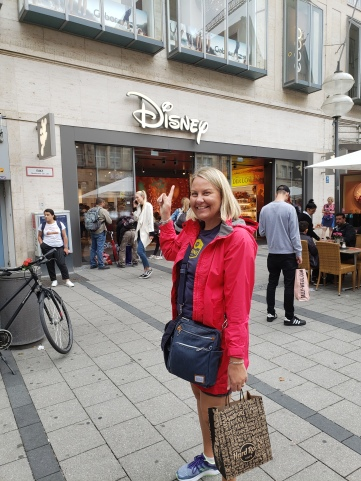 While I was Wandering Munich's Disney Store!