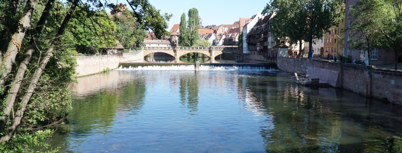 While We Were Wandering Nuremberg