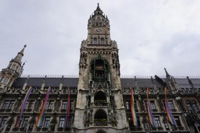 While I was Wandering Munich's Marienplatz