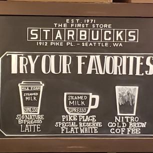 The First Starbucks