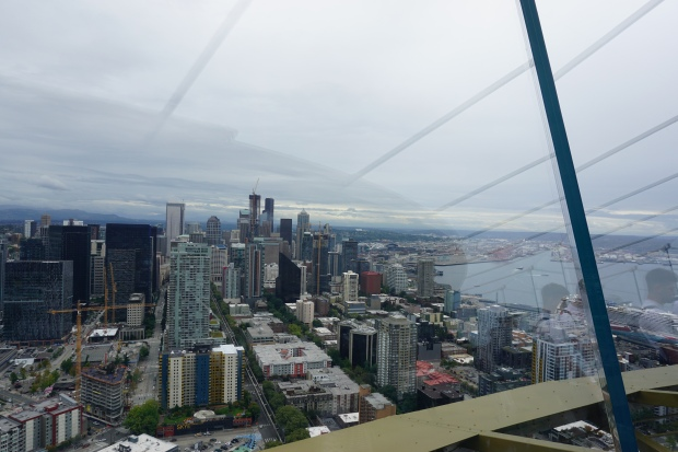 Hello from the Space Needle
