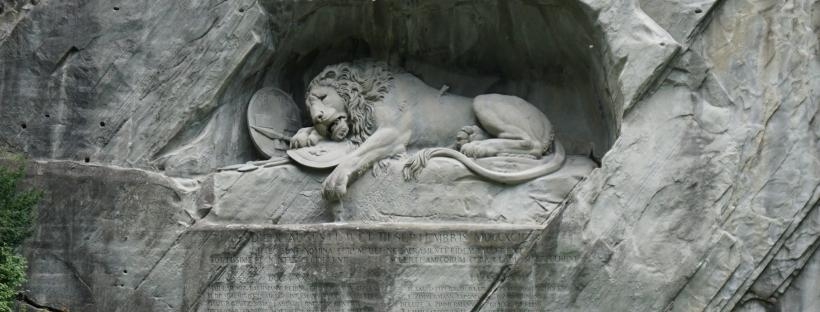 Lucerne's Lion Monument
