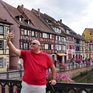 Enjoying Colmar