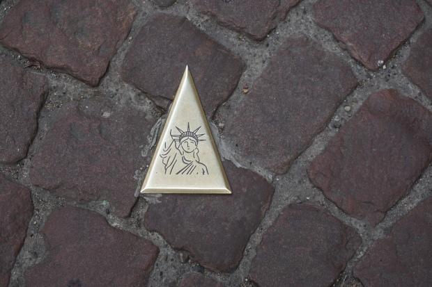 Colmar Tourist Walk Markers