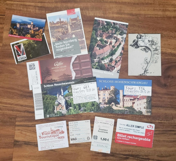 We Wandered All Over Europe!
