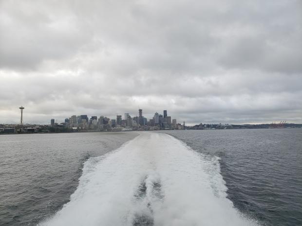Goodbye Seattle! Hello Victoria!