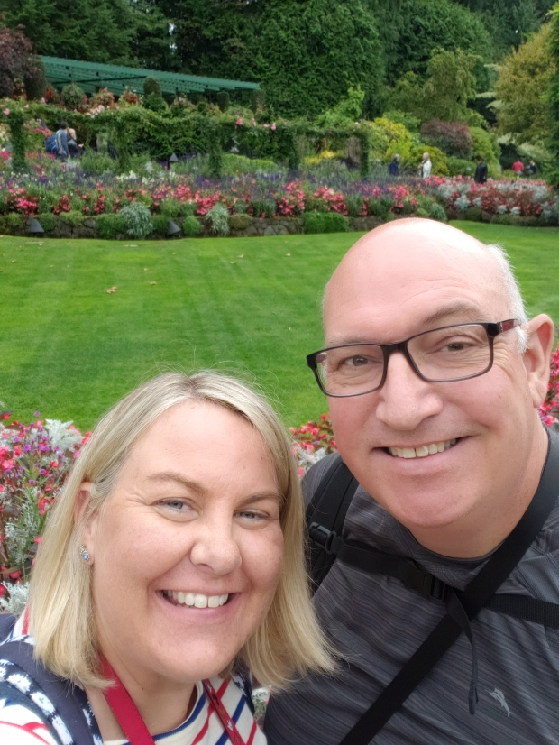 Hello from Butchart Gardens!